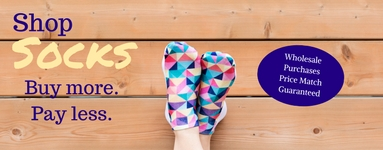 PRICE MATCH GUARANTEED FOR WHOLESALE SOCKS