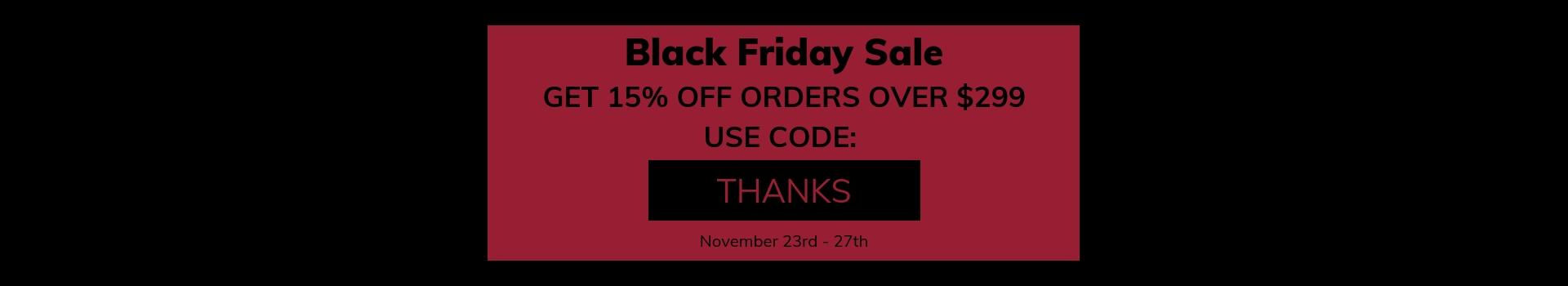 Black Friday Sales at Wholesale Distributors USA
