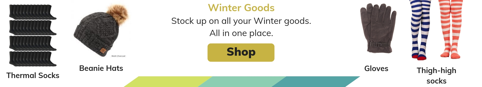 Wholesale Winter Hats, Bulk Winter Gloves, and Bulk thermal socks