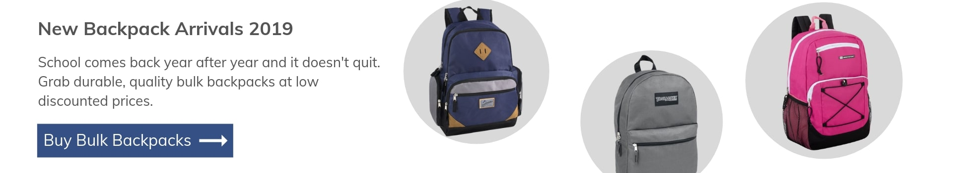 Wholesale Backpacks from All Time Trading
