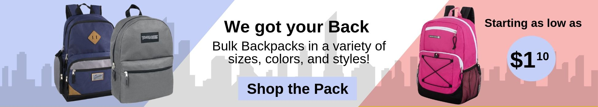 Wholesale Backpacks, bulk backpacks