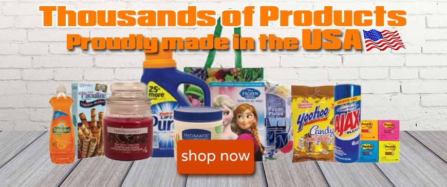 wholesale products made in the USA general merchandise home