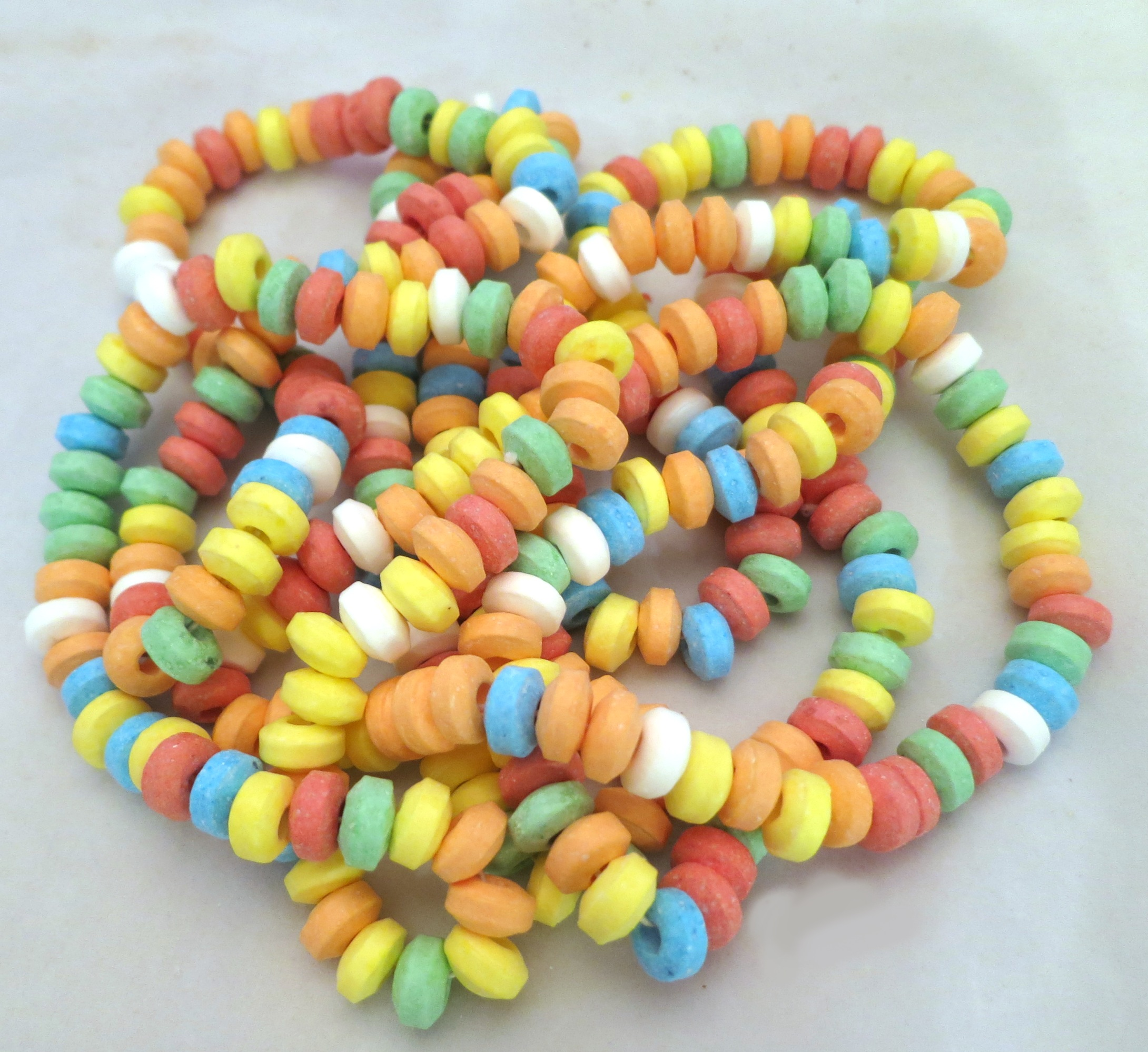 necklaces made from candy