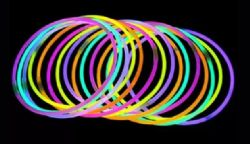 144 Units of Party Festival Glow Necklace Assorted Colors Glow In The Dark Necklace - Glow In The Dark Items