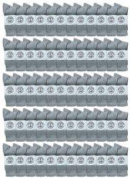 60 Units of Yacht & Smith Women's Premium Cotton Crew Socks Gray Size 9-11 - Womens Crew Sock