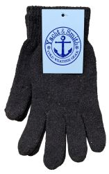 48 Units of Yacht & Smith Men's Winter Gloves, Magic Stretch Gloves In Assorted Solid Colors - Winter Gloves