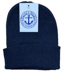 12 Units of Yacht & Smith Kids Winter Beanie Hat Assorted Colors - Winter Beanie Hats