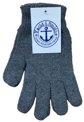 240 Units of Yacht & Smith Men's Winter Gloves, Magic Stretch Gloves In Assorted Solid Colors - Knitted Stretch Gloves