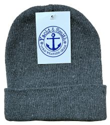 36 Units of Yacht & Smith Kids Winter Beanie Hat Assorted Colors - Winter Beanie Hats