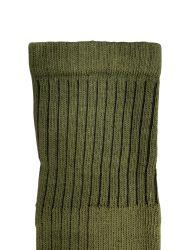 12 Units of Yacht & Smith Military Grade Wick Dry Crew Socks ,Heavy Duty Boot Sock, Army Green - Mens Crew Socks