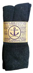 180 Units of Yacht & Smith Men's Winter Thermal Crew Socks Size 10-13 - Mens Thermal Sock