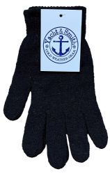 60 Units of Yacht & Smith Men's Winter Gloves, Magic Stretch Gloves In Assorted Solid Colors - Knitted Stretch Gloves