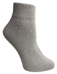 12 Units of Yacht & Smith Women's Cotton Assorted Color Quarter Ankle Sports Socks, Size 9-11 - Womens Ankle Sock