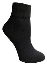 36 Units of Yacht & Smith Wholesale Bulk Womens Mid Ankle Socks, Cotton Sport Athletic Socks Assorted, 36 Pairs - Womens Ankle Sock