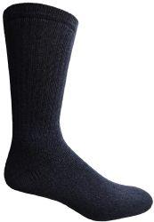 60 Units of Yacht & Smith Men's Cotton Crew Socks Navy Size 10-13 - Mens Crew Socks