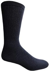 48 Units of Yacht & Smith Women's Sports Crew Socks, Size 9-11, Navy - Womens Crew Sock