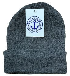 48 Units of Yacht & Smith Ladies Winter Toboggan Beanie Hats In Assorted Colors - Winter Beanie Hats