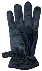 36 Units of Yacht & Smith Men's Winter Warm Gloves, Fleece Lined With Black Gripper - Ski Gloves
