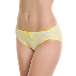 72 Units of Angelina Cotton Mid Rise Bikini with Sombrero Print Design - Womens Panties & Underwear