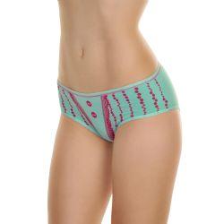 72 Units of Angelina Cotton Hiphugger Panties With Polka Dot Print - Womens Panties & Underwear