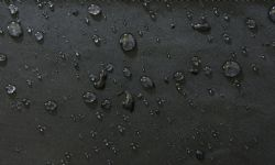 12 Units of Men's FleecE-Lined Water Proof Hooded Windbreaker Jacket Solid Charcoal Size Xx Large - Men's Winter Jackets