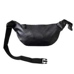 24 Units of Diamond Design Large Fanny Packs Belt Bags In Black - Fanny Pack