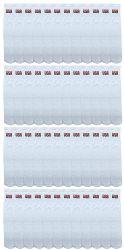 48 Units of Yacht & Smith Women's Cotton Usa Tube Socks, Referee Style Size 9-15 - Women's Tube Sock