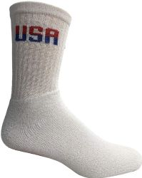 36 Units of Yacht & Smith Mens Wholesale Bulk Cotton Socks, Athletic Sport Socks Shoe Size 8-12 (white Usa, 36) - Mens Crew Socks