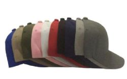 120 Units of Baseball Cap Plain Blank Solid Color Blue Only - Baseball Caps & Snap Backs