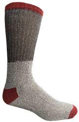 6 Units of Yacht & Smith Mens Cotton Thermal Crew Socks , Warm Winter Boot Socks 10-13 - Mens Thermal Sock