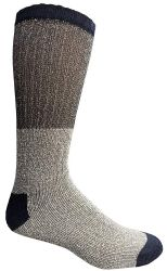 48 Units of Yacht & Smith Mens Cotton Thermal Crew Socks , Warm Winter Boot Socks 10-13 - Mens Thermal Sock
