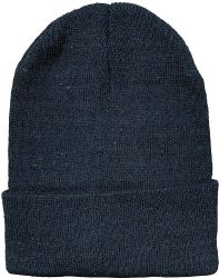 120 Units of Yacht & Smith Unisex Winter Warm Beanie Hats In Solid Black - Winter Beanie Hats