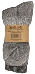 36 Units of Yacht & Smith Womens Terry Lined Merino Wool Thermal Boot Socks - Womens Thermal Socks