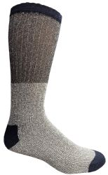 36 Units of Yacht & Smith Mens Cotton Thermal Tube Socks, Cold Weather Boot Sock Shoe Size 8-12 (36) - Mens Thermal Sock