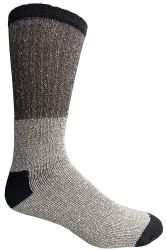 120 Units of Yacht & Smith Mens Cotton Thermal Tube Socks, Thick And Cold Resistant 9-15 Boot Socks - Mens Thermal Sock