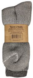4 Units of Yacht & Smith Mens Terry Lined Merino Wool Thermal Boot Socks - Mens Thermal Sock