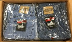 24 Units of Mens Classic Fit Original Denim Jeans - Mens Jeans