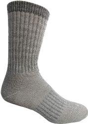 4 Units of Yacht & Smith Merino Wool Socks For Hiking, Trail, Hunting, Winter, By Socks'nbulk (4 Pairs Gray B, Mens 10-13) - Mens Thermal Sock