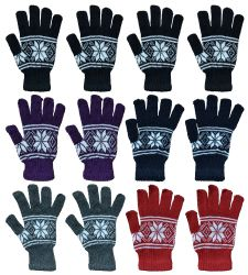 960 Units of Bulk Glove Mix For Men And Women Winter Warm Knit Glove Lot - Winter Care Sets