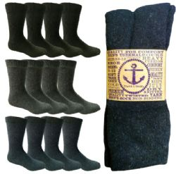 360 Units of Yacht & Smith Women's And Men's Warm Thermal Boot Socks Case Set - Sock Care Sets