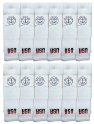 60 Units of Yacht & Smith Men's 32 Inch Cotton King Size Extra Long Usa Tube SockS- Size 13-16 - Big And Tall Mens Tube Socks