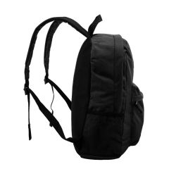 "24 Units of 18"" Classic Black Backpacks With Side Mesh Water Bottle Pocket - Backpacks 18"" or Larger"