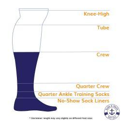 240 Units of Yacht & Smith Men's Premium Cotton Crew Socks Black Size 10-13 - Mens Crew Socks