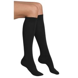 6 Units of Yacht & Smith Women's Knee High Socks, Solid Colors Black - Womens Knee Highs