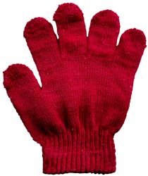 12 Units of Yacht & Smith Kids Warm Winter Colorful Magic Stretch Gloves Ages 2-5 - Kids Winter Gloves