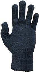 12 Units of Yacht & Smith Men's Winter Gloves, Magic Stretch Gloves In Assorted Solid Colors - Knitted Stretch Gloves