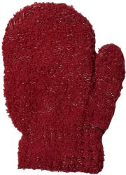 12 Units of Yacht & Smith Kids Fuzzy Stretch Mittens With Glittery Shine Ages 2-7 - Kids Winter Gloves