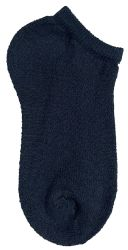 24 Units of Yacht & Smith Kids No Show Ankle Socks Size 6-8 Black - Girls Ankle Sock