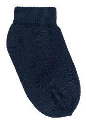 60 Units of Yacht & Smith Kids Cotton Ankle Socks Size 2-4 Black - Boys Ankle Sock