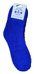 36 Units of Yacht & Smith Men's Warm Cozy Fuzzy Socks, Solid Colors Size 10-13 - Mens Crew Socks